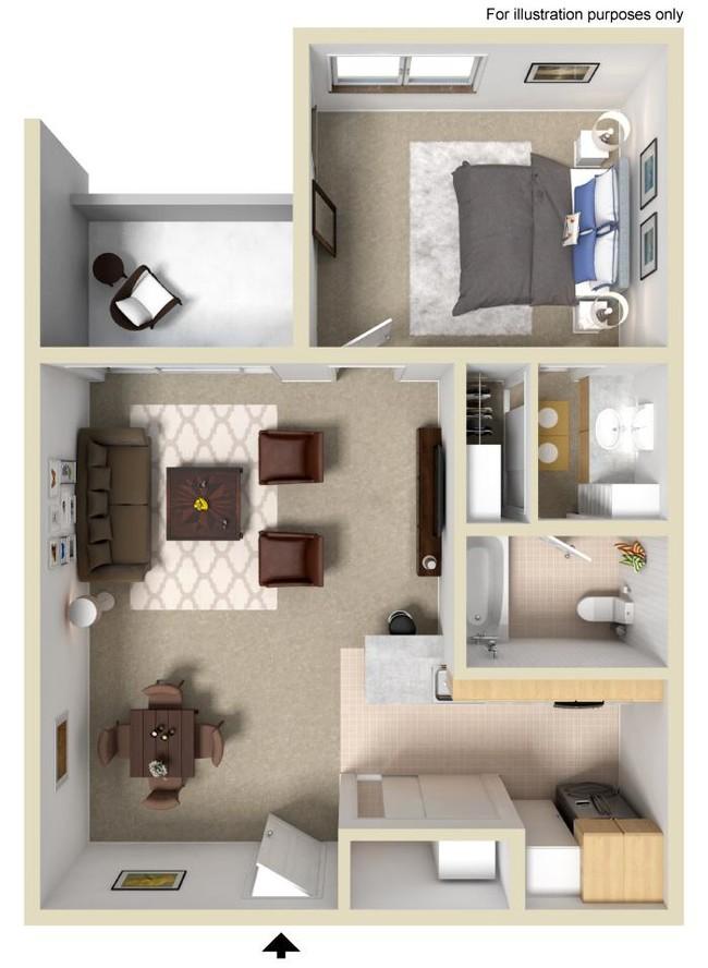 1 Bedroom Platinum Apartment